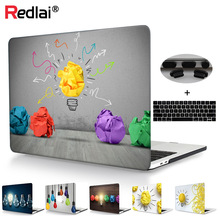 2016 NEW Fashion Print for macbook 13 case  light bulb Pattern For Mac book Pro 13 15 With Retina 12 inch 2017 new convertire vhs in digitale with snapshopt key for mac