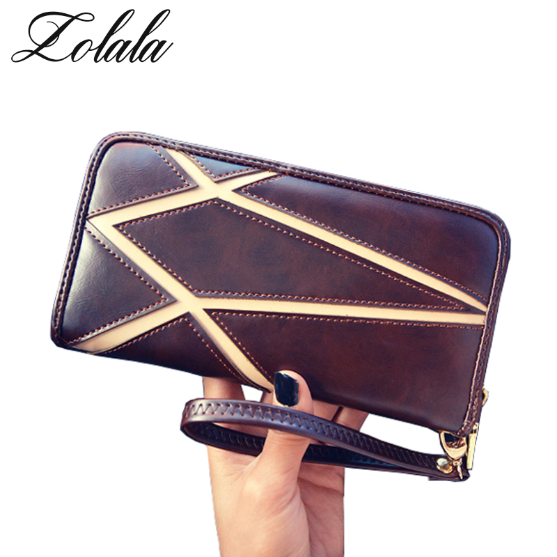 Zolala Luxury brand Soft PU Leather Women Wallet Female Ladies Patchwork Wallet For Girls Purse Card Holder Money Bag Carteras back seat covers leather car seat cover for bmw e30 e34 e36 e39 e46 e60 e90 f10 f30 x3 x5 x6 car accessories car styling