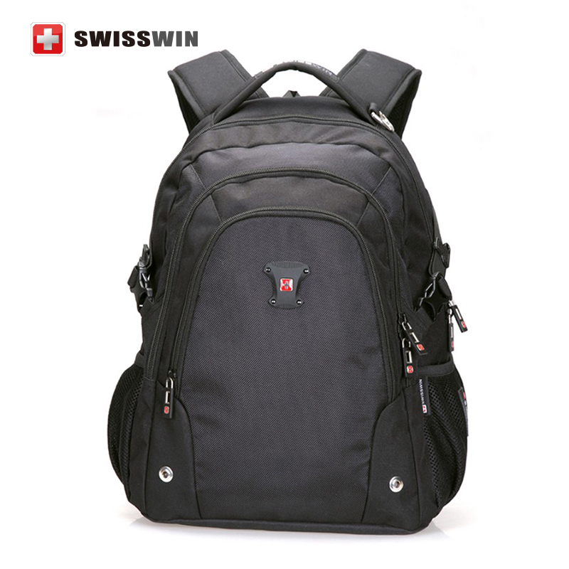 ФОТО Swisswin Backpack&Laptops Shockproof Travel Bag Schoolbag College Bookbags Computer Bags&Men\Women Large Capacity Swissgear 2017