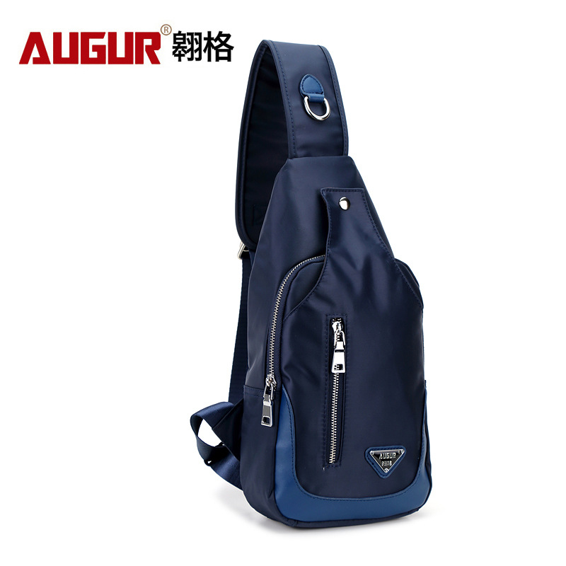 New Men Crossbody Bag Nylon Shoulder Bag One Strap Waterproof Small Males Messenger Bags ...