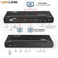 Wavlink USB C estación de acoplamiento Universal 5 K USB-C Gen1 Dual pantalla 4 K HD HDMI entrega de potencia USB 3,0 gigabit Ethernet para Mac OS