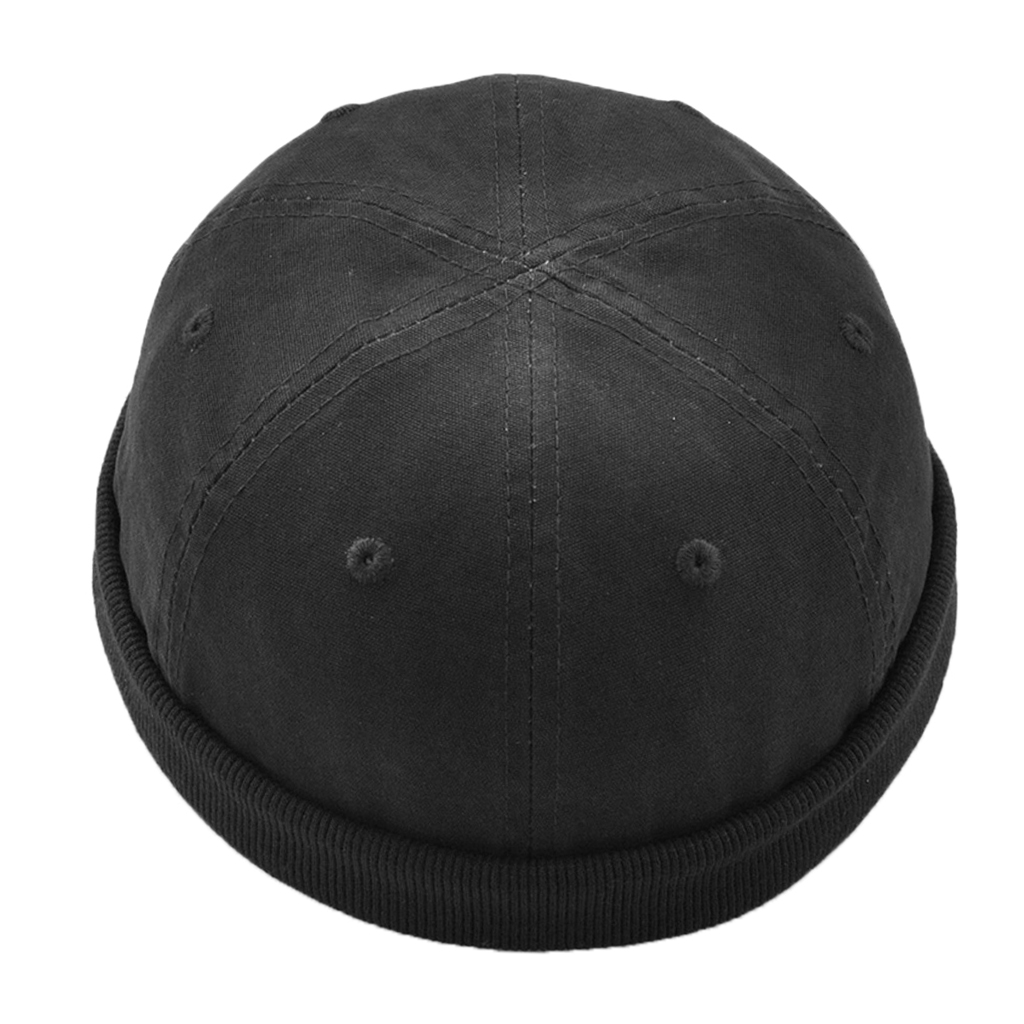 Unisex Men Womens Brimless Ball Skull Caps Mechanic Painter Fisherman Hat Retro Popular Fisherman Sailor Hat