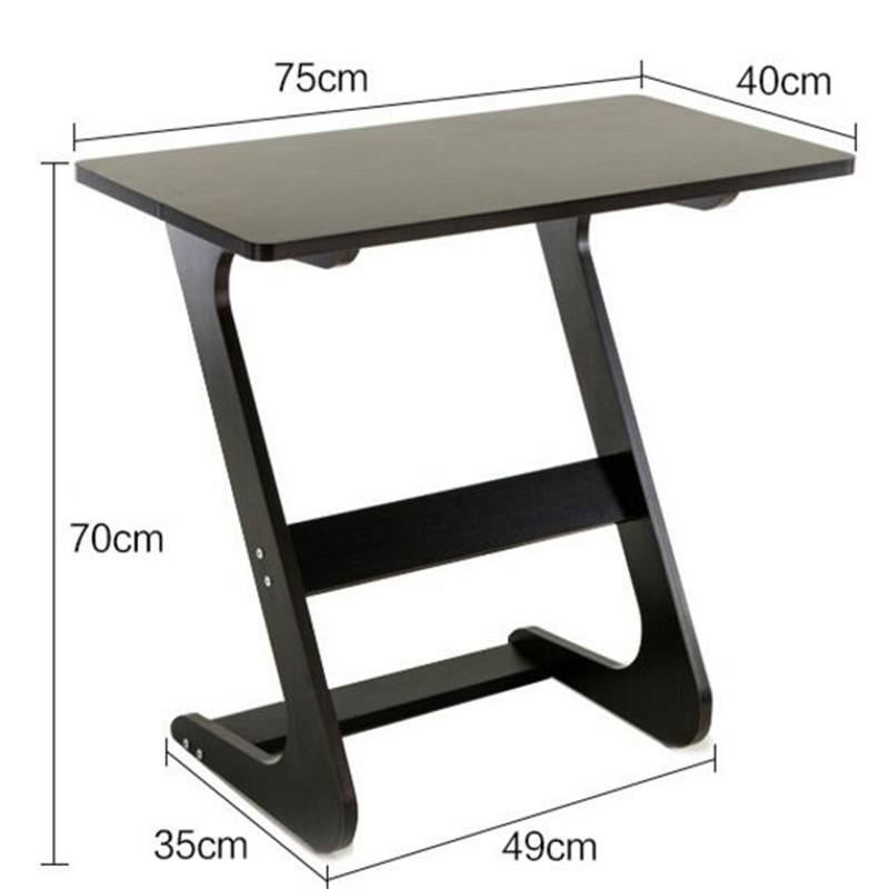 75*40CM Wood Lazy Bedside Table Mutilpurpose Notebook Computer Desk folding wood laptop table lazy bedside table notebook computer desk