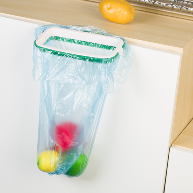 bag holder aliexpress com kitchen stand trash rack with clip hanging - Trash Bag Holder