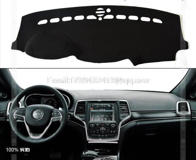 For Jeep Grand Cherokee Wk2 2017 2016 Dashmats Car Styling Accessories Dashboard Cover