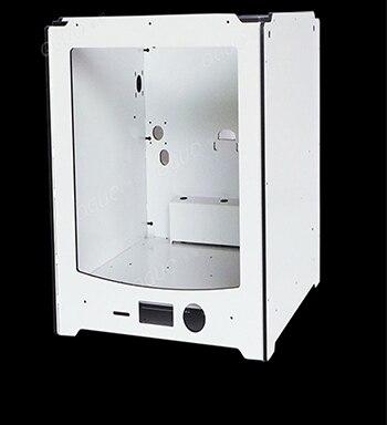 La plus nouvelle imprimante 3d prolongée d'ultimaker 2 assemblent la plaque composée en aluminium de cadre 6mm d'épaisseur logeant la bonne qualité
