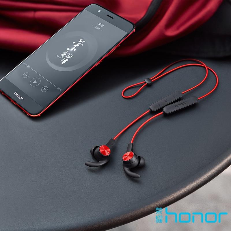 Huawei Original Honor xSport auriculares Bluetooth AM61 IPX5 impermeable BT4.1 música micrófono Control inalámbrico auriculares para Android IOS - 5