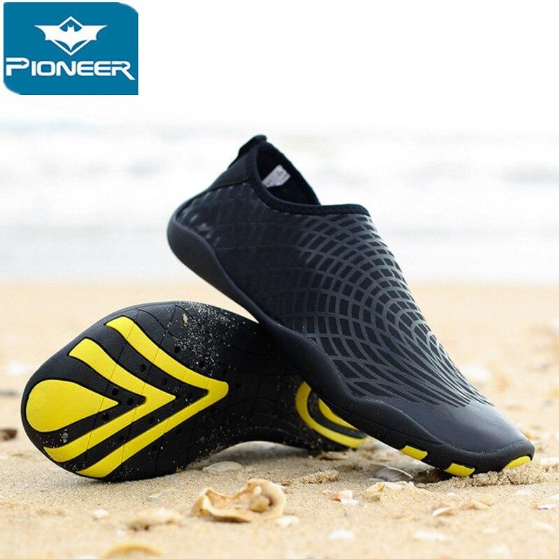 Hommes femmes baskets natation plage chaussures Sports nautiques Aqua bord de mer surf pantoufles en amont léger chaussures d'athlétisme # yjdf