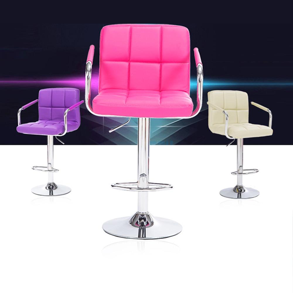 New 2pcs Counter Footrest Barstools font b Kitchen b font Breakfast Bar Stool Pu font b