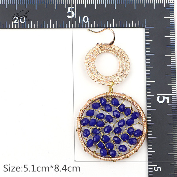 HTB10ceDPXXXXXcnXVXXq6xXFXXXg - Badu Royal Blue Crystal Earring Women Ethnic Crochet Dangle Earrings Vintage Fashion Jewelry for Winter