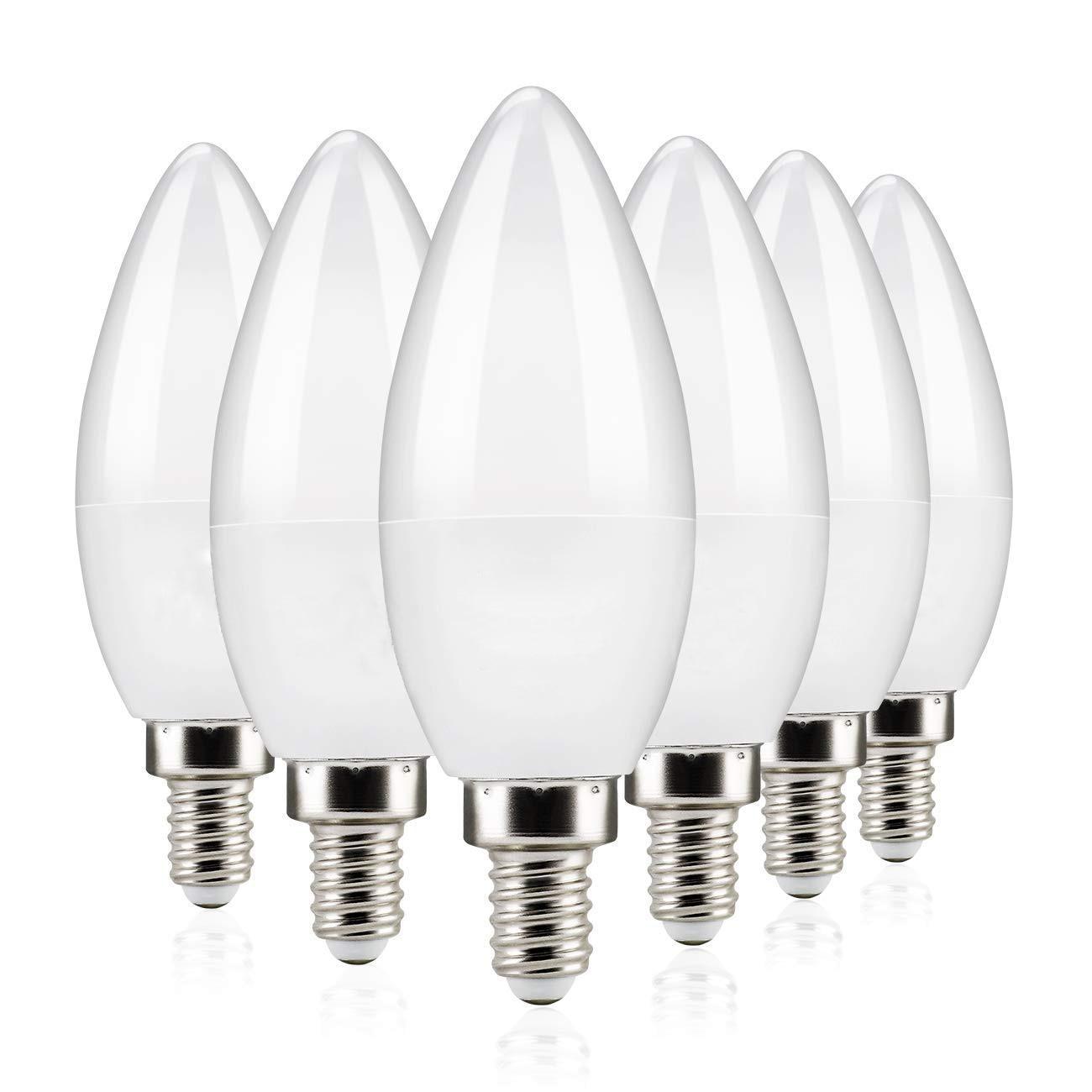 Bombilla de vela Led E14 de alto brillo 110V 220V foco de ahorro de energía cálido/fresco blanco chandlier lámpara de cristal bombolas Luz de hogar