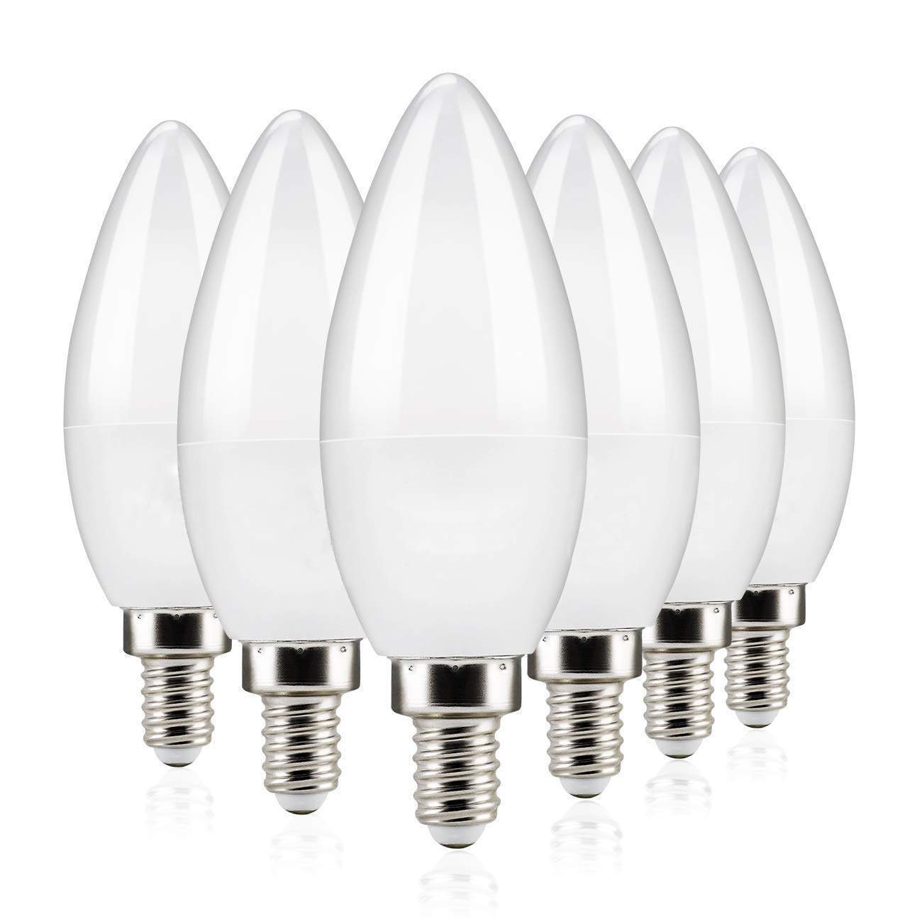 High Brightness E14 Led Candle Bulb 110V 220V Save Energy Spotlight Warm/cool White Chandlier Crystal Lamp Bombillas Home Light