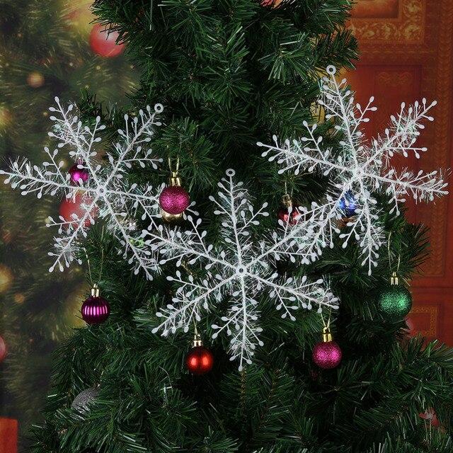 Шт. 3 шт. Рождественские снежинки для рождественской вечеринки стол DIY ручной работы подарок поставки Аппликации Свадебные украшения