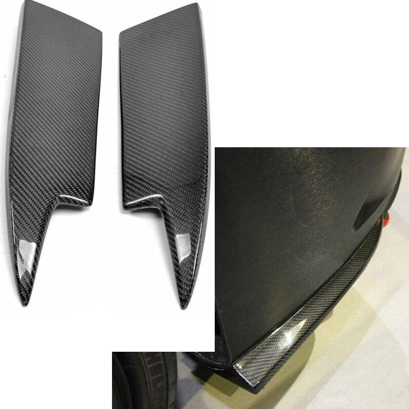 MÉLANGER Style Fiber De Carbone Pare-chocs Arrière Splitter Pour Mercedes Benz CLA W117 CLA250 CLA260 CLA45 AMG 2014 ~ 2015