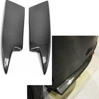 MIX Style Carbon Fiber Rear Bumper Splitter For Mercedes Benz CLA W117 CLA250 CLA260 CLA45 AMG