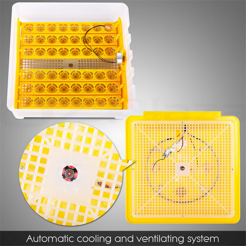 48 mini egg incubator automatic Poultry hatchery machine chicken brooder Cheap incubator for hatching eggs CE approved