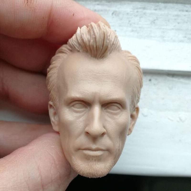 Blank Hot 1//6 Scale The Grown Up Villain Of Team USA Skull Head Sculpt Unpainted