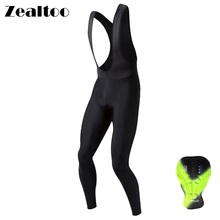 Zealtoo Pro Mens Cycling Long Pants Spring Autumn Breathable Trousers Padded MTB Bike Tights Bicycle Rding Clothing