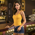7 Colors Sexy Knitting Crop Top For Women V-neck Bandage Vest
