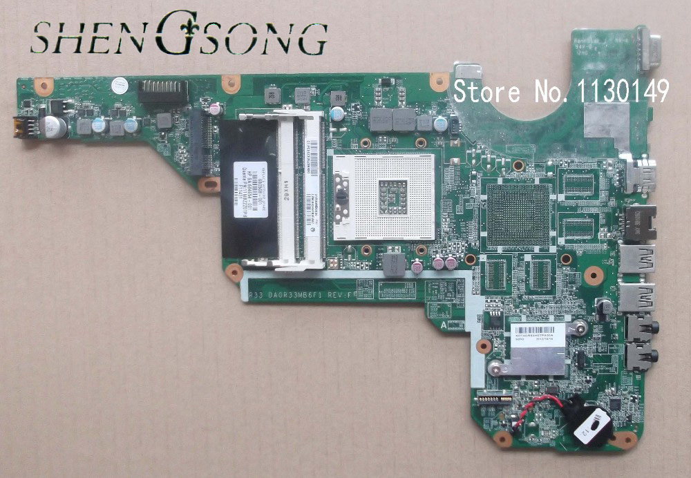 DA0R33MB6E0 DA0R33MB6F1 motherboard 680568-001 for HP Pavilion G4 G6 G7 G4-2000 G6-2000 G7-2000 680568-501 laptop system board 683029 501 683029 001 main board fit for hp pavilion g4 g6 g7 g4 2000 g6 2000 laptop motherboard socket fs1 ddr3