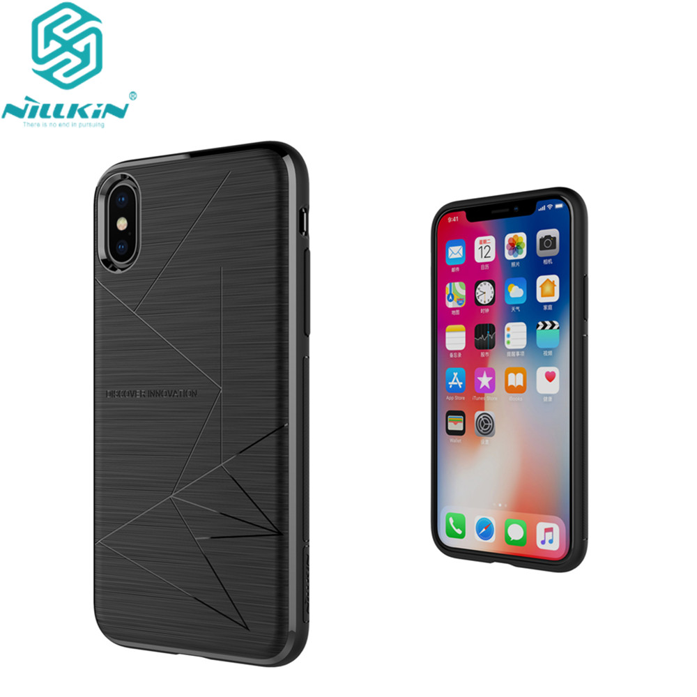 nillkin magic case for apple iphone x cover qi wireless. Black Bedroom Furniture Sets. Home Design Ideas