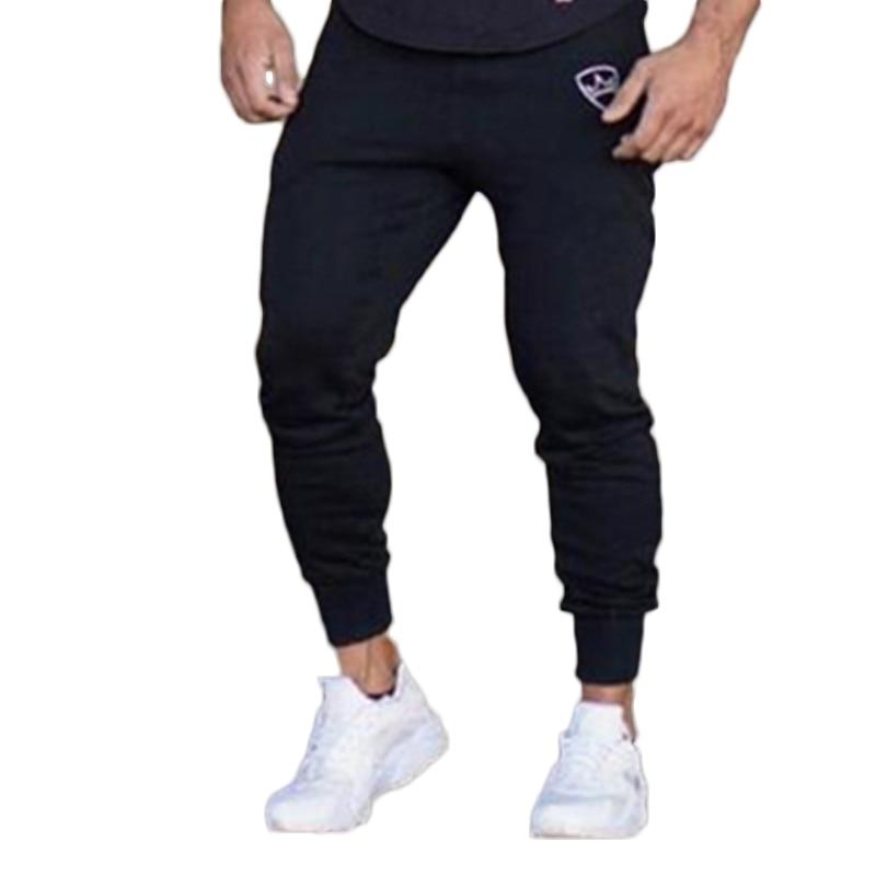 2018 Herbst Marke Turnhallen Männer Jogger Jogginghose Männer Jogger Hosen Sporting Kleidung Die Hohe Qualität Hosen Größe