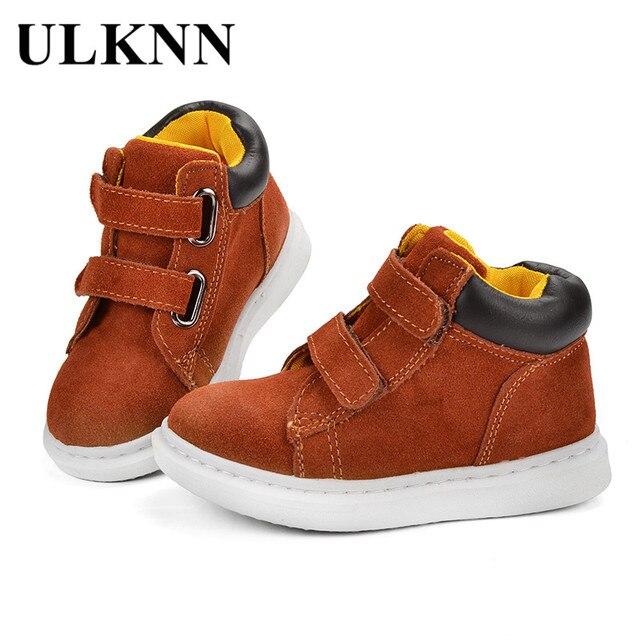 1912b7f1153f9 ULKNN Enfants Casual Chaussures Garçons Chaussures de Sport Filles Enfants  L école En Cours D