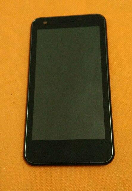 """Использовать Оригинальный ЖК-Дисплей + Сенсорный Экран Digitizer + Рамка для Haier W910 MSM8260A Dual Core 4.5 """"HD 1280x720 Бесплатная доставка"""