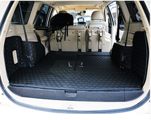 Best quality! Special trunk mats for Mitsubishi Pajero Sport 7seats 2014-2008 waterproof cargo liner boot carpets,Free shipping