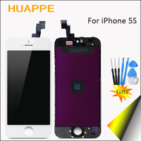 1PCS Good Quality High Definition No Dead Pixel Working Well Black White LCD Screen For IPhone