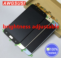 Adjust For Samsung Galaxy J730 J7 Pro 2017 Full Touch Screen Digitizer Sensor Glass + LCD Display Panel Monitor Module Assembly