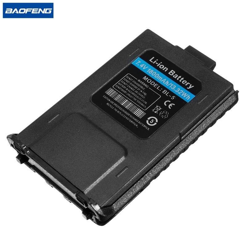 BL-5 BAOFENG UV-5R 7.4 V 1800 mAh Bateria Li-ion Para Baofeng Walkie Talkie UV-5RA UV-5RE UV-5R Series Rádio em Dois Sentidos
