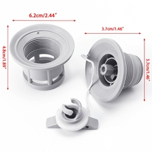 6 Holes Inflatable Boat Raft Dinghy Kayak Canoe Accessorie Air Valve Adapter Cap Dropshipping