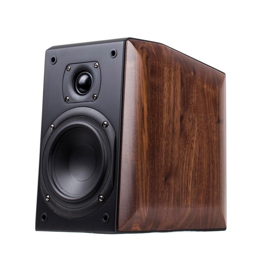 N-009 COMPACT ME-2 5 2-way 2-driver Bookshelf speaker wood speaker 5 inches Woofer VIFA driver 10~50W aurum cantus leisure 2 5 3 4 inch 2 way 2 driver bookshelf speaker g2 aluminum ribbon tweeter pair