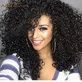 Перуанский Kinky Вьющиеся Волосы Девственницы 4 Связки Kinky Волна Класс 7А Необработанные Девственные Волосы 4 Связки Ms Lula Перуанские Волосы ткачество