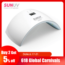 SUNUV SUN9x Plus 36W Nail Lamp UV Lamp Nail Dryer for UV Gel LED Gel Nail Machine Infrared Sensor Timer Set