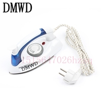 DMWD Collapsible Mini Electric Irons For Household Travel Iron Handheld Non Stick 700W Steam Irons