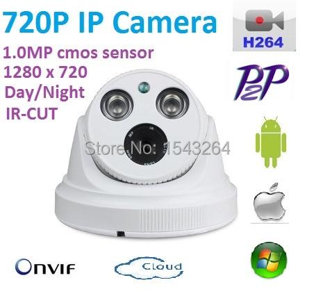 New 1280*720P 1.0MP POE 720P camera ONVIF H.264 P2P INdoor IR CUT Night Vision P2P support POE Switch 48V or DC 12V Power supply brand new dmd chip 1280 6038b 1280 6039b 1280 6138b 6139b 6338b