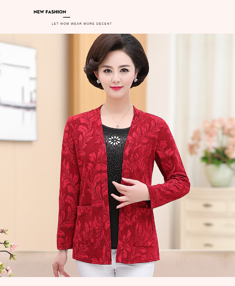 2019 Women Sequined Blouses Fake 2 Piece Top Rose Red Green Layered Shirt Faux Twinset Blouse Woman Casual Flower Shirt Top Female (7)