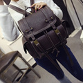 Free Shipping 2016 New Good Quality  Fashion Vintage Leather Mini Backpacks For Teenage Girls Cute Waterproof Backpack For Sale