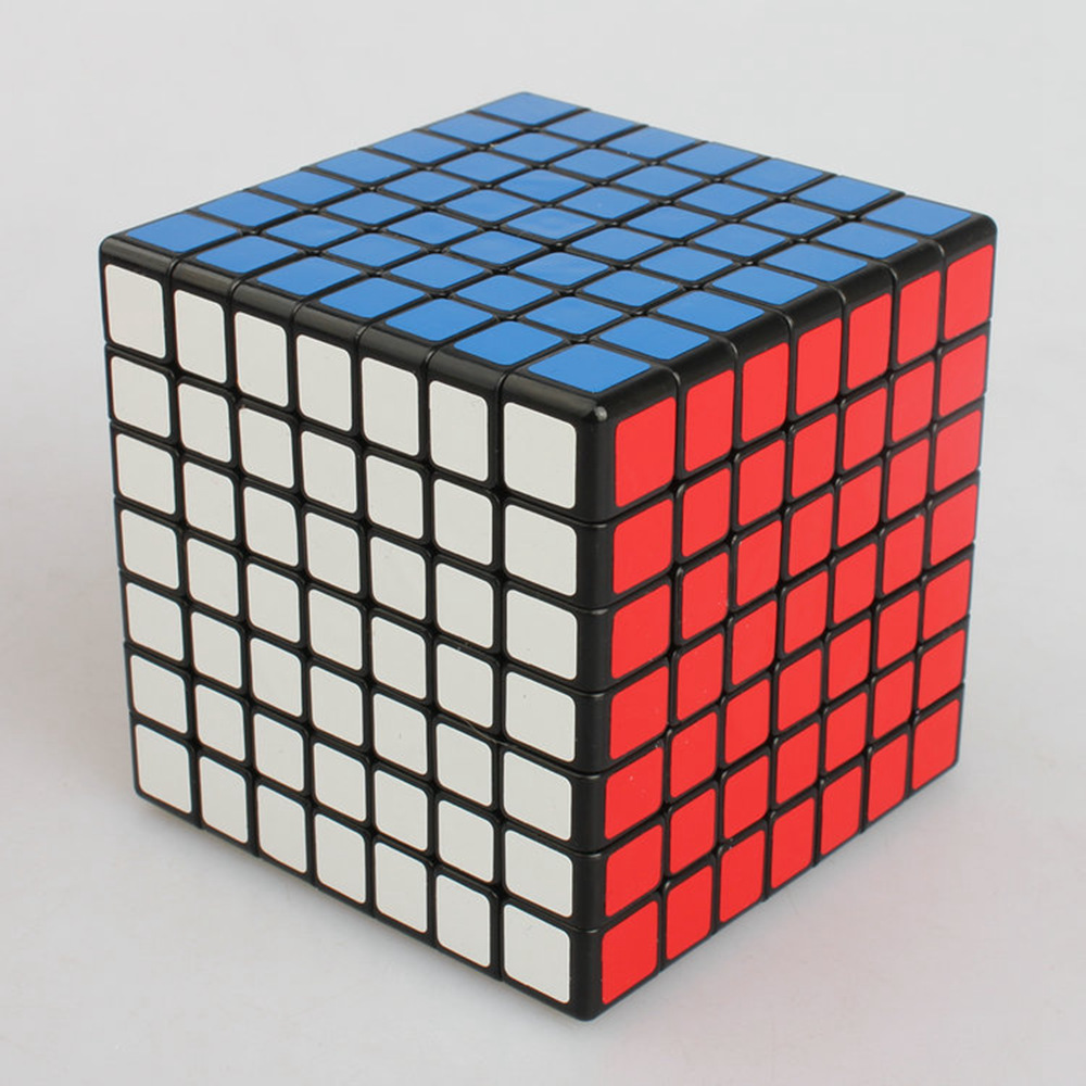 Brand New Shengshou Linglong 69mm Plastic Speed Puzzle 7x7x7 Magic Cube Educational Toys For Children Kids Baby