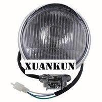 XUANKUN 5 Inch Headlamps Modified Motorcycle Electric Car Xenon Lamp
