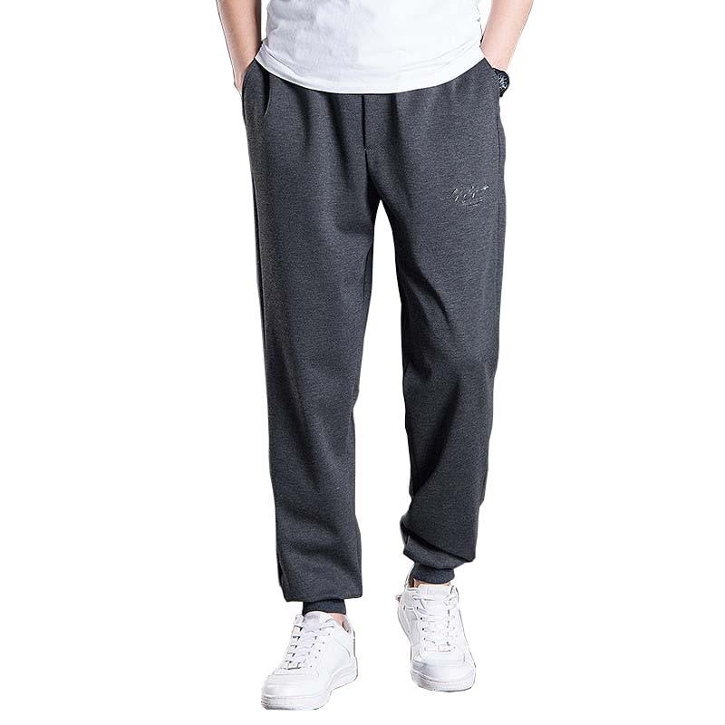 Spring Autumn Sportwear Hip Hop Sweatpants Cotton Men Casual Harem Joggers Pants Loose Baggy Pants Trousers Big Size L-6XL