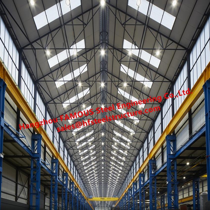 Cina Desain Dan Konstruksi Untuk Baja Struktural Dibingkai Atap Pelana Atap Gudang Dengan Rentang Yang Jelas Daylight Pintu Frame Kaca Aliexpress