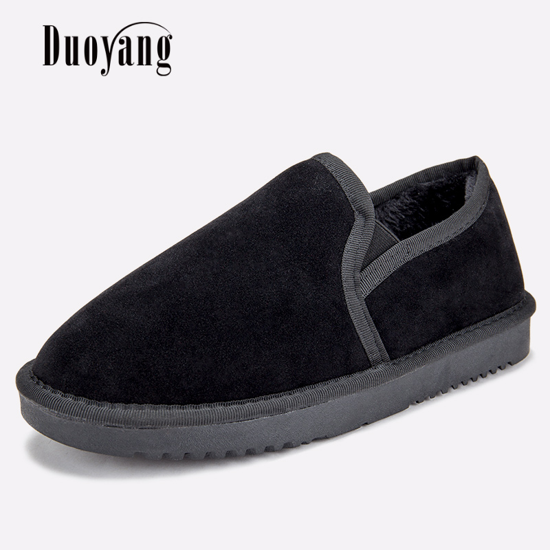 Women Snow boots warm fur winter lazy shoes 2017 New Arrival women ankle boots spring casual shoes plus size 35-44 2017 fashion winter flat fur shoes women rabbit fur tide lazy shoes slip on casual plus velvet loafer shoes autumn new arrival