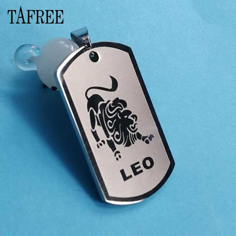 JOINBEAUTY Men Leo Virgo Cancer Taurus Gemini Scorpio Libra Necklace 12 Zodiac pendant Making Accessories Jewelry ST09
