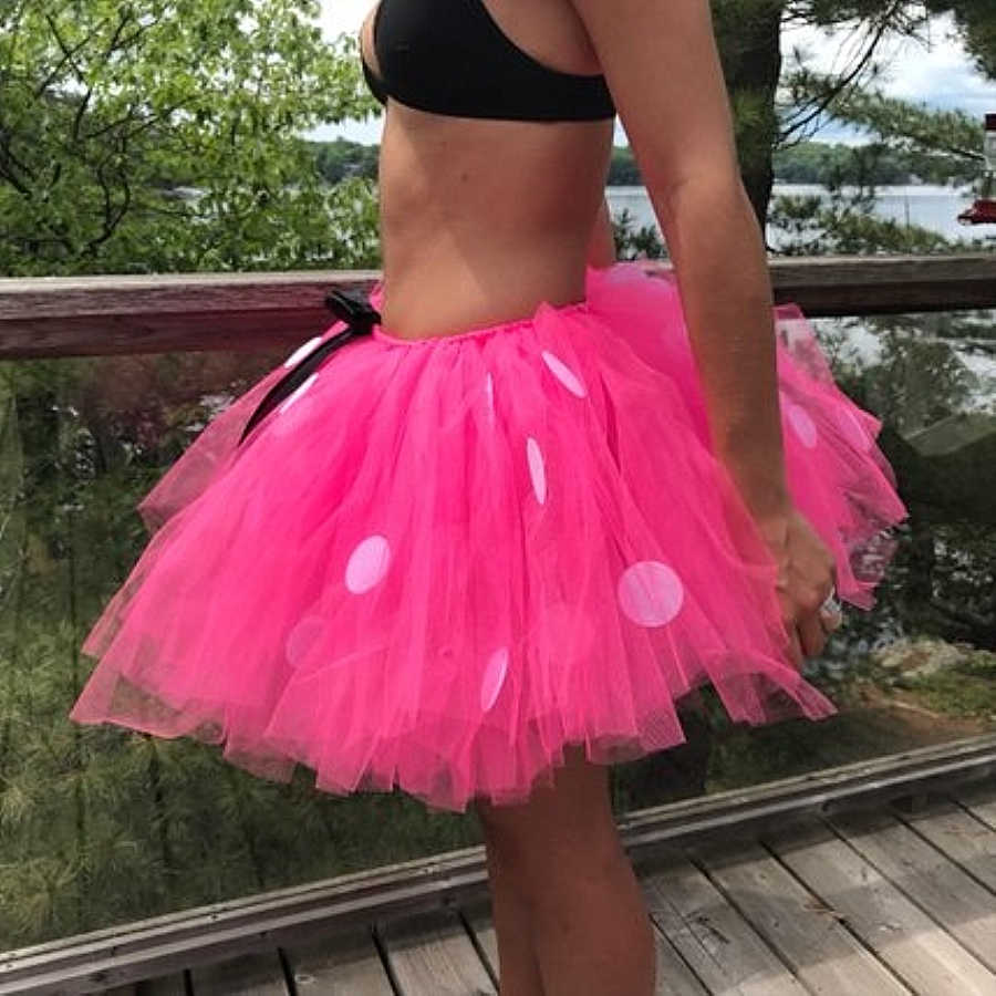 be85b7d83cd46 Midi Adult Minnie Mouse Tutu Skirt Halloween Clothes Birthday Party Holiday  Outfit Sweet High Waist Women Skirts Autumn Winter