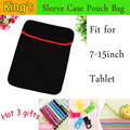 """Universal PU inner sleeve for tablet pc laptop, 7"""",8"""",9.7"""",10.1""""12''13''14''  inch mid case & bag & shell & cover+3 gifts"""