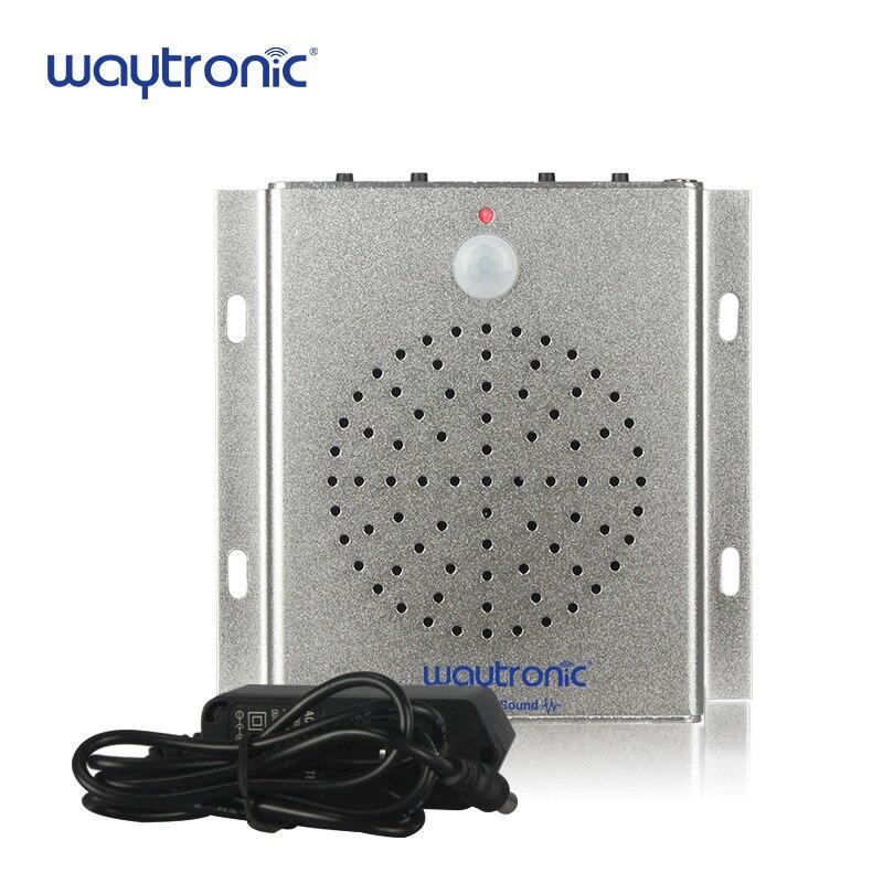 цены Infrared Human Body Sensor Sound Player Speaker Welcome Alarm with USB Port MP3 Files Free Download via USB Flash Drive