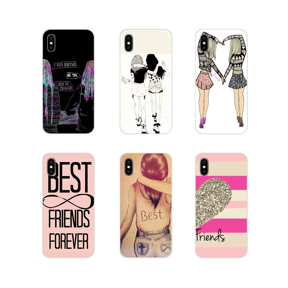 For Samsung Galaxy A3 A5 A7 J1 J2 J3 J5 J7 2015 2016 2017 Happy Best Friend Card BFF Mobile Accessories Phone Shell Covers